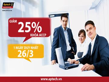 Học bổng giảm 25% khóa ACCP nhân ngày thành lập đoàn 26/3 từ tập đoàn Aptech