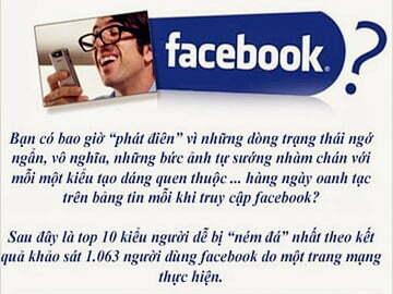 Bạn có thuộc kiểu người bị ghét trên Facebook?