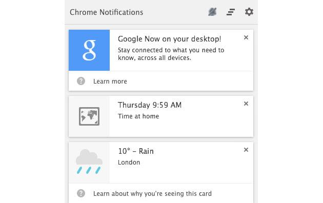 Google Now đã chính thức có mặt trên HĐH Windows và Mac OSX  3