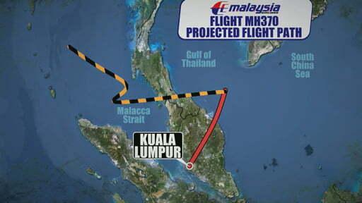 Đường link gây sock về máy bay MH370 chứa mã độc-1
