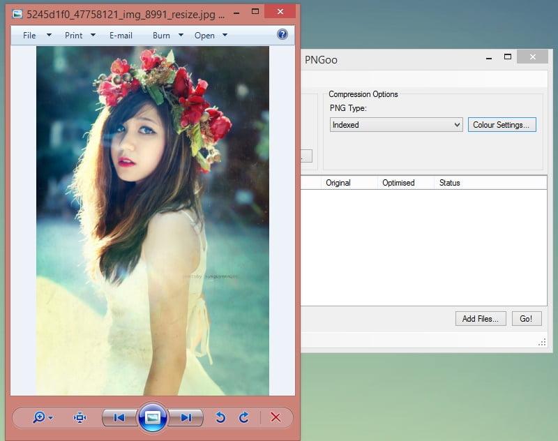 PNGoo - Phần mềm giảm dung lượng ảnh tốt nhất