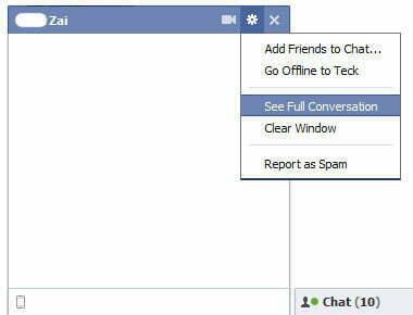 """2 cách xóa """"dấu vết"""" nội dung Facebook Chat vĩnh viễn-1"""