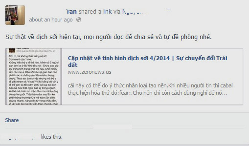 Tràn ngập chia sẻ về dịch sởi trên các trang mạng xã hội-2
