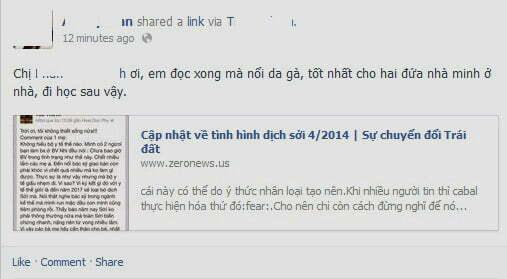 Tràn ngập chia sẻ về dịch sởi trên các trang mạng xã hội-3