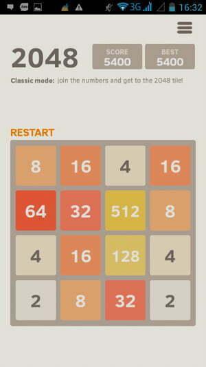 """Bí quyết """"phá đảo"""" game 2048 -1"""