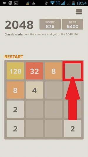 """Bí quyết """"phá đảo"""" game 2048 -3"""