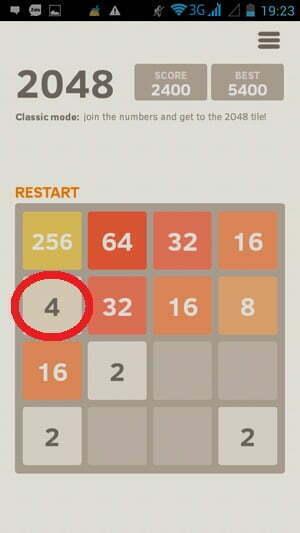 """Bí quyết """"phá đảo"""" game 2048 -4"""