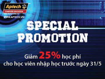 Cơ hội nhận ưu đãi đặc biệt Khóa Lập trình Hanoi-Aptech