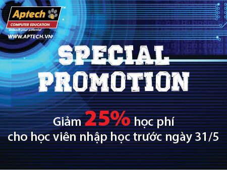 Cơ hội nhận ưu đãi đặc biệt Khóa Lập trình Hanoi-Aptech-2