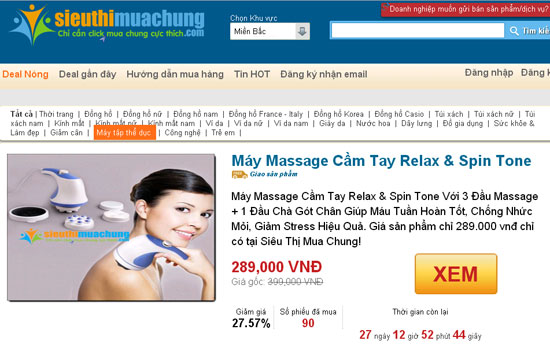"""Cảnh báo 2 website hạ giá """"ảo"""", bán sản phẩm hình thức mua chung -3"""