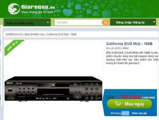 """Cảnh báo 2 website hạ giá """"ảo"""", bán sản phẩm hình thức mua chung -4"""