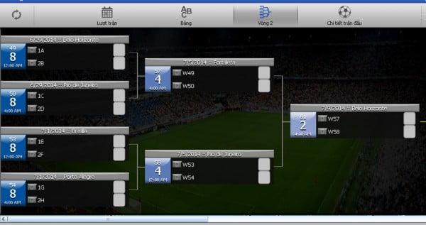 """World Cup """"thu nhỏ"""" với ứng dụng miễn phí iCup 2014 Brazil-4"""