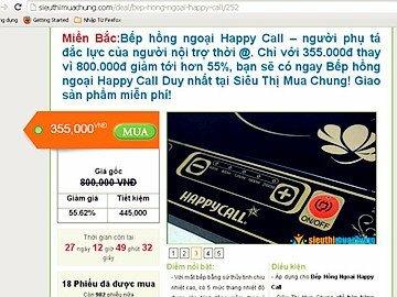 """Read more about the article Cảnh báo 2 website hạ giá """"ảo"""", bán sản phẩm hình thức mua chung"""