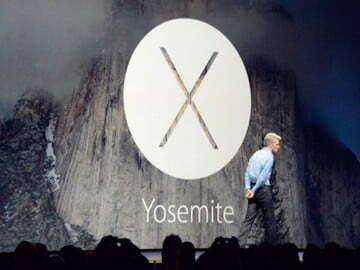 OS X 10.10 có tên OS X Yosemite, nhiều trải nghiệm được đánh giá cao