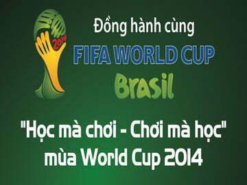 đồng hành cùng world cup 2014