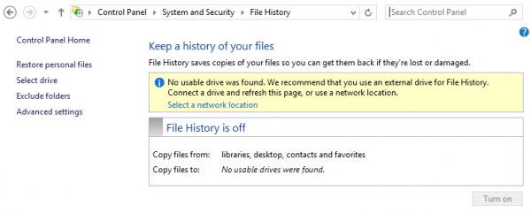 File History, công cụ sao lưu và phục hồi dữ liệu không thể bỏ qua-1