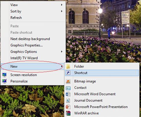 Tắt nhanh Windows 8 chỉ với một cú nhấp chuột-1