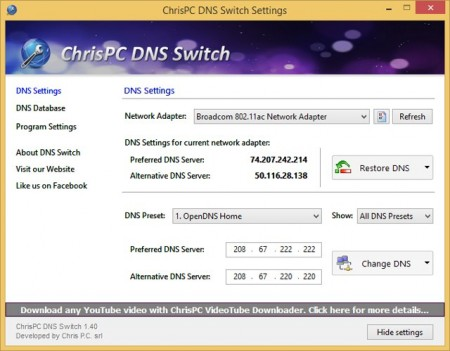 Thủ thuật cải thiện tốc độ Internet bằng DNS-2