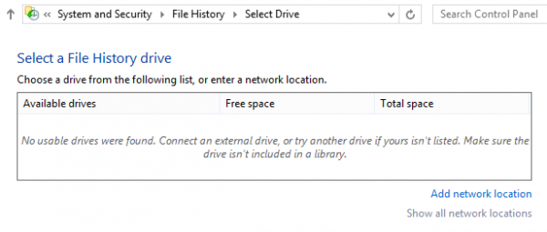 File History, công cụ sao lưu và phục hồi dữ liệu không thể bỏ qua-2