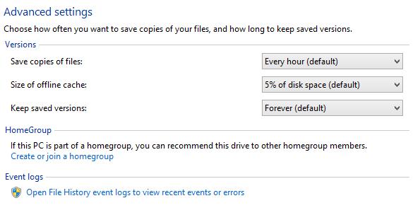 File History, công cụ sao lưu và phục hồi dữ liệu không thể bỏ qua-3
