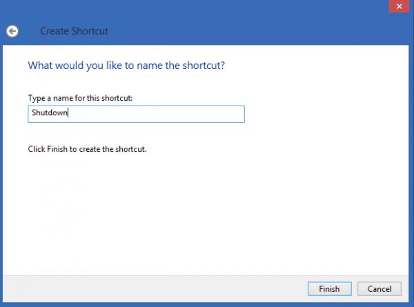 Tắt nhanh Windows 8 chỉ với một cú nhấp chuột-3