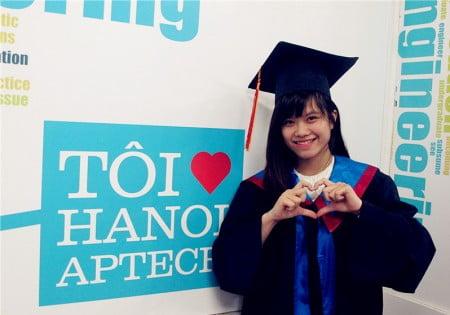 """Sinh viên Hanoi- Aptech, chưa tốt nghiệp vẫn """"đắt sô""""-4"""