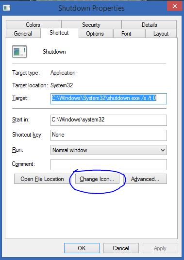 Tắt nhanh Windows 8 chỉ với một cú nhấp chuột-4