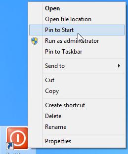 Tắt nhanh Windows 8 chỉ với một cú nhấp chuột-6