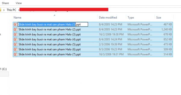 Mẹo đơn giản giúp đổi tên file hàng loạt trong Windows-1