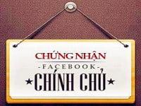 """Cách đăng kí """"chính chủ"""" cho Facebook hoặc Fanpage cá nhân"""