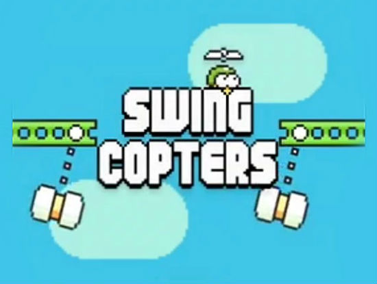 Hướng dẫn chơi game Swing Copters với điểm số cao