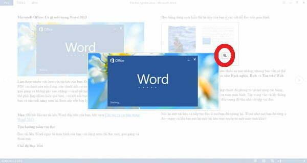 Khám phá Word 2013 cùng những tính năng mới