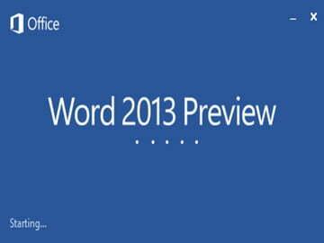 Read more about the article Khám phá Word 2013 cùng những tính năng mới