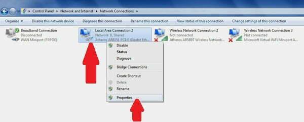 Thủ thuật đổi DNS trên Windows 7 và Windows 8