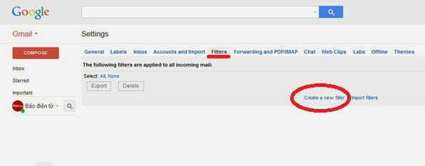 Tạm biệt thư rác Gmail với thủ thuật đơn giản-2