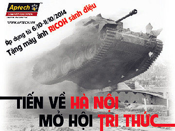 """Hanoi- Aptech """"Ghi dấu lịch sử"""" với quà tặng ý nghĩa mừng ngày Giải phóng Thủ đô"""