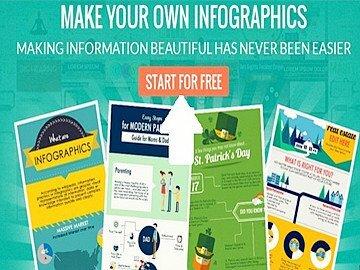 Tạo infographic online cực nhanh bằng công cụ online