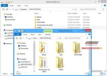 Sắp xếp lại máy tính Windows một cách khoa học