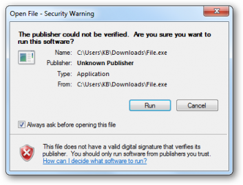 Read more about the article Vô hiệu hóa Cảnh báo Open File – Security Warning