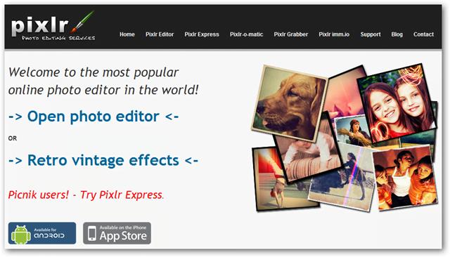 Những ứng dụng chỉnh sửa ảnh trực tuyến thay thế Photoshop