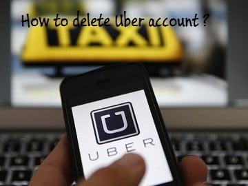 Hai cách để loại bỏ hoàn toàn tài khoản taxi Uber của bạn