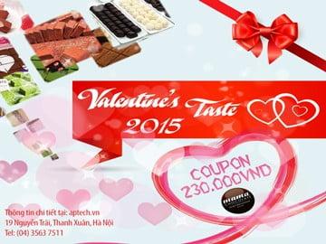 Hanoi-Aptech mang hương vị Mama Chocolate tặng bạn mùa Valentine