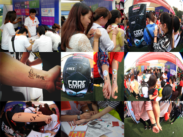 Read more about the article Code Center Hanoi- Aptech điểm nhấn đặc biệt của HHT's Garage Sale