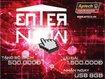 Ấn nút Enter Now với nghề quản trị mạng tại Hanoi- Aptech