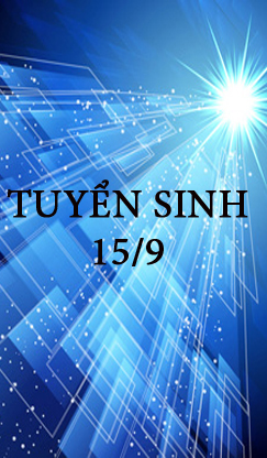 Read more about the article Lịch tuyển sinh tháng 9: 15/09/2015