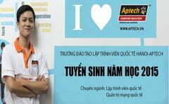 Hanoi- Aptech tư vấn tuyển sinh ngành học Lập trình viên từ 1/8/2015