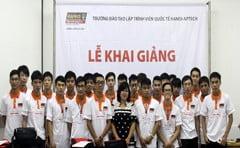 Hanoi- Aptech: Từng bừng khai giảng lớp lập trình viên Fasttrack