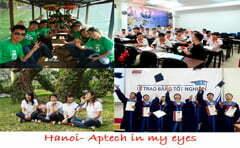 Hanoi- Aptech nơi không chỉ là chốn học để trở thành lập trình viên