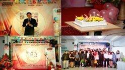 Hanoi- Aptech tưng bừng lễ sinh nhật đón tuổi mới