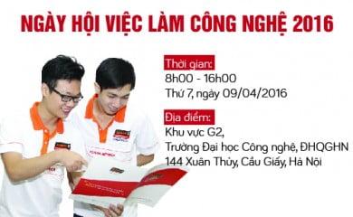 """Read more about the article HANOI- APTECH THAM GIA """"NGÀY HỘI VIỆC LÀM CÔNG NGHỆ """" NĂM 2016"""